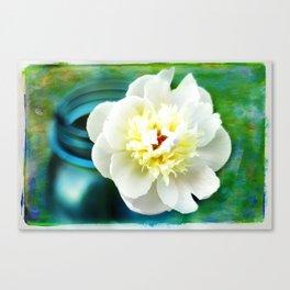 Summer White Canvas Print
