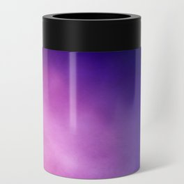 Pink and Purple Abstract Can Cooler