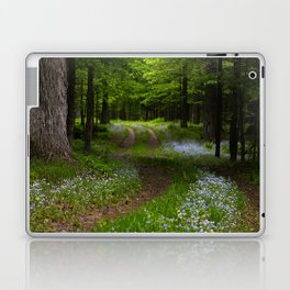Forget-me-not Trail Laptop & iPad Skin