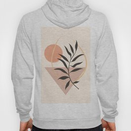 Tropical Leaf- Abstract Art 24 Hoody