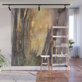 Forest FIRE! Wall Mural