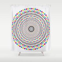 GodEye4 Shower Curtain