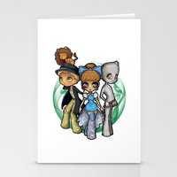 oz Stationery Cards featuring Oz  by Mickey Spectrum
