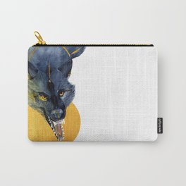 Golden Wolf Carry-All Pouch