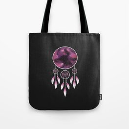 Dreamcatcher Pink Tote Bag