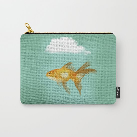 BALLOON FISH  III Carry-All Pouch