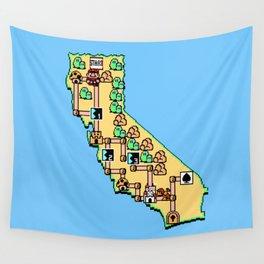 Super California Wall Tapestry