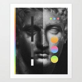 Rivalité Art Print