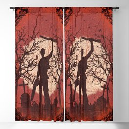 Ash Graves Blackout Curtain