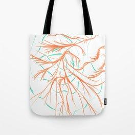 Web Roots Tote Bag