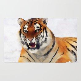 Snow Tiger Rug