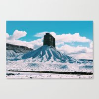 colorado Canvas Prints featuring Colorado by juliaamaryyy