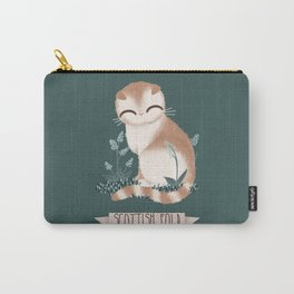 Scottish Fold Cat Carry-All Pouch