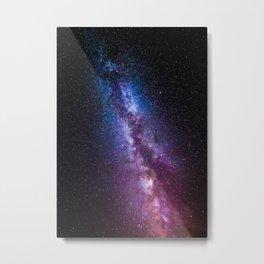 Milky way bright colors Metal Print
