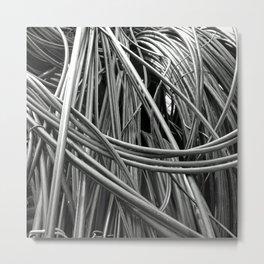 Loopy Metal Print