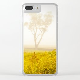 Dreams of Goldenrod and Fog Clear iPhone Case