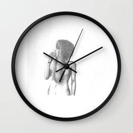 lancia il sasso Wall Clock