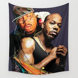 E-40 and Too Short Wall Tapestry