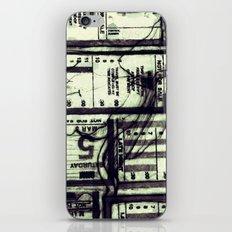 Muni Breaks Mixed Media by Faern iPhone & iPod Skin