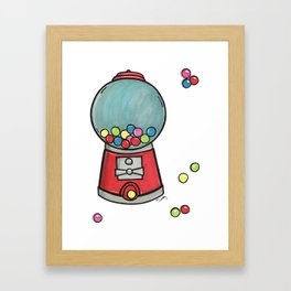 Gumball Games Framed Art Print