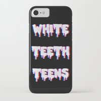 lorde iPhone & iPod Cases featuring White Teeth Teens by Wis Marvin