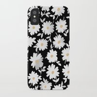 daisies iPhone & iPod Cases featuring Daisies by leah reena goren