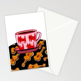 a cup of calmness .. Stationery Cards