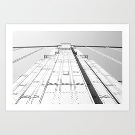 Sky Walking Art Print