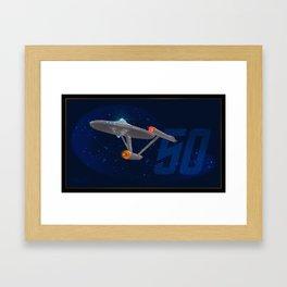 Trek 50 Framed Art Print