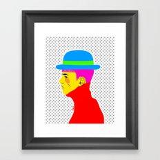 Mr. Colors Framed Art Print