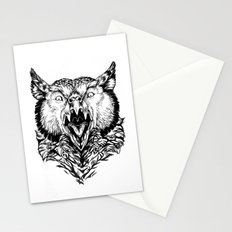 Beware the Owlbear Stationery Cards