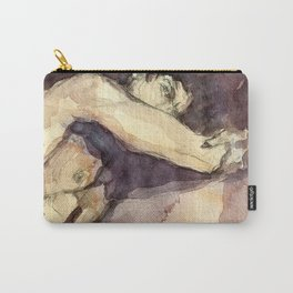 Paul in the Dark Carry-All Pouch