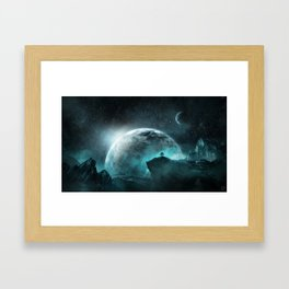 The Tree Of Hope Framed Art Print