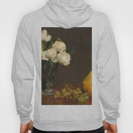 Henri Fantin-Latour - Still Life With Roses And Fruit Hoody