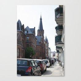 Streets of Copenhagen Canvas Print