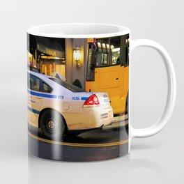 NYPD Squad Car Coffee Mug
