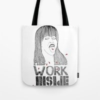 pills Tote Bags featuring Pills by Ilya kutoboy