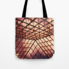 Glass Pyramid // Louvre Tote Bag