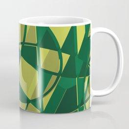 3D Abstract Futuristic Background X. 16 Coffee Mug