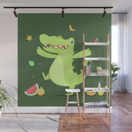 Alligator Wall Mural