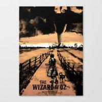 oz Canvas Prints featuring Oz  by Dan K Norris