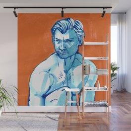 Faces: Justin 5 Wall Mural