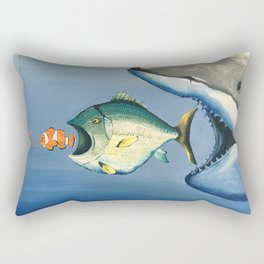 Fish Bait Rectangular Pillow