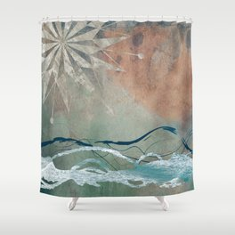 Essence of Ocean 2 Shower Curtain