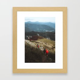 step by step Framed Art Print