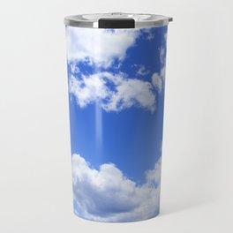 Sky and Blue Travel Mug
