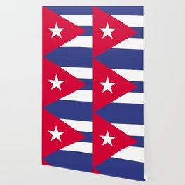 Cuba flag emblem Wallpaper