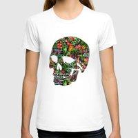 tiki T-shirts featuring Tiki Skull by spacecolour