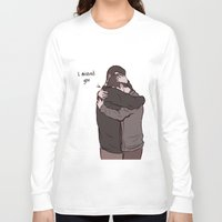sterek Long Sleeve T-shirts featuring Sterek Reunion by Dimension Bound