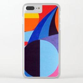 Shark - Paint Clear iPhone Case